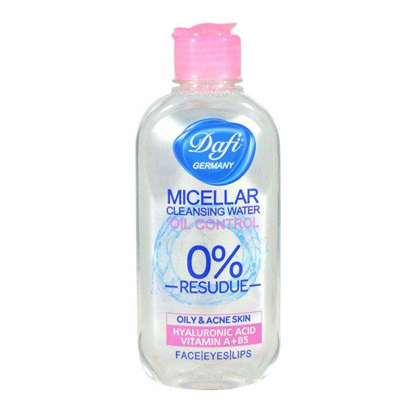 محلول آرایش پاک کن پوست چرب دافی