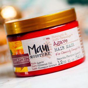 ماسک مو استحکام بخش و ضد شکنندگی Agave حجم ۳۴۰گرم مائویی