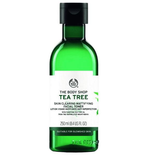 تونر درخت چای بادی شاپ حجم ۲۵۰ میل جلوی محصول