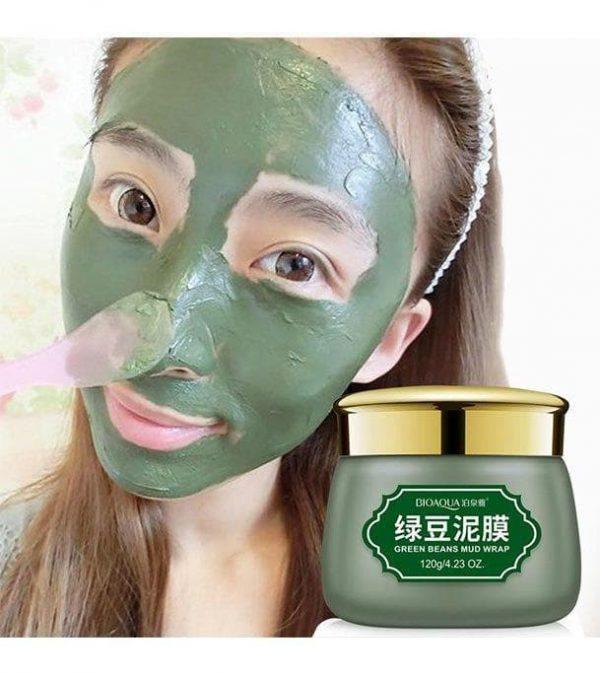 تست ماسک لوبیا سبز بیوآکوا