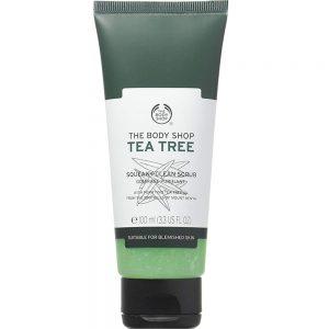 اسکراب چای سبز یا تی تری بادی شاپ