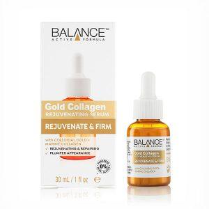 balance gold collagen rejuvenating serum 1